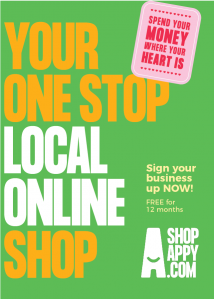 Shopappy.com Your one stop local online shop. Sign up your business now