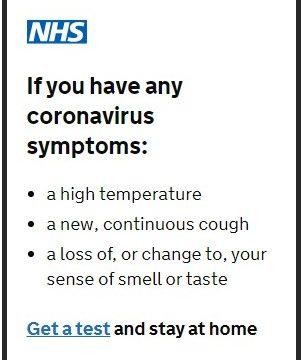 NHS GET A TEST